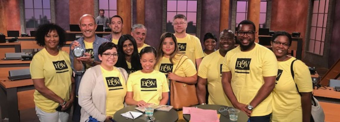 B&W South Loop Office Gave Back at a WTTW Telethon Event