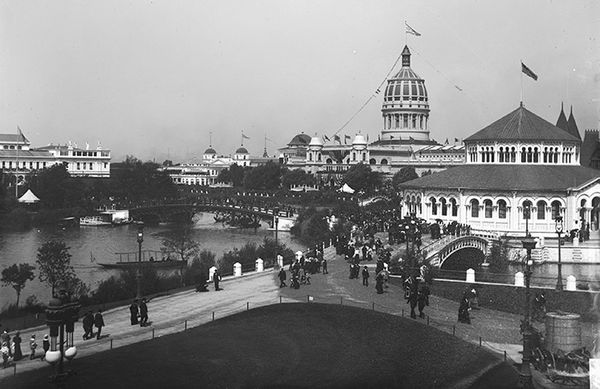 Columbian Exposition in Hyde Park