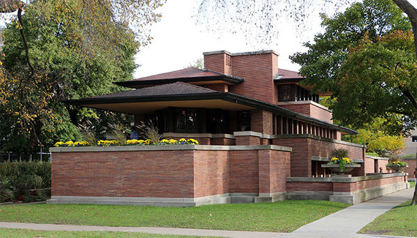 Frank Lloyd Wright's Robie House in Hyde Park