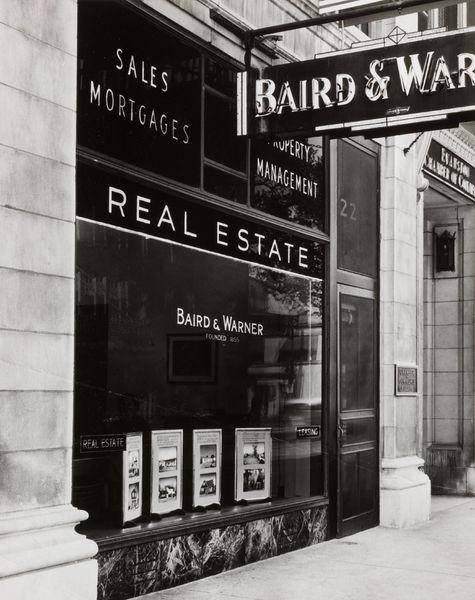 The Baird & Warner Evanston Office, circa 1955