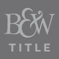 B&W Title