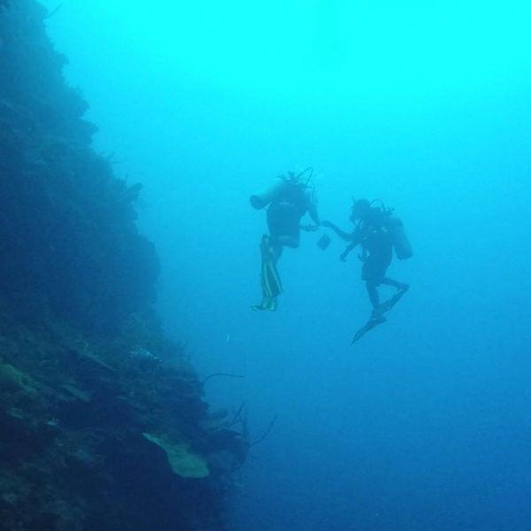 Lincoln Park Broker Matt Thomas Goes Scuba Diving