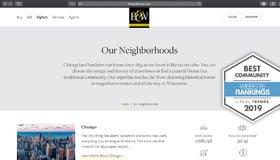 BairdWarner.com Ranks in Top Ten Real Estate Websites Nationwide