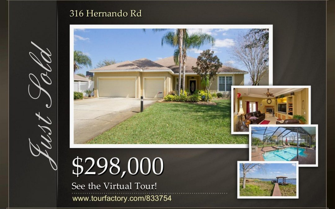 Winter Haven Lakefront Home Just Sold for Full Price