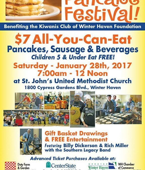 This Weekend – Winter Haven Kiwanis Pancake Festival