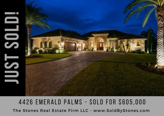 JUST SOLD: Emerald Palms – Winter Haven