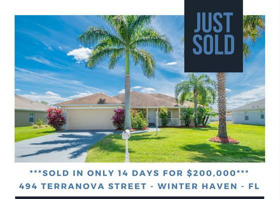 JUST SOLD: Terranova – Winter Haven Florida