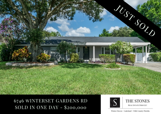 JUST SOLD: 6746 Winterset Gardens Road – Winter Haven