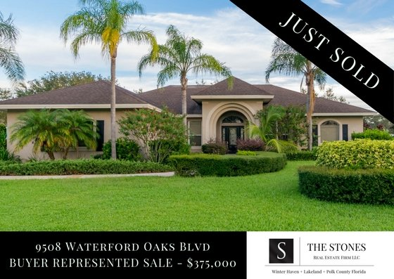 JUST SOLD: 9508 Waterford Oaks Blvd – Winter Haven