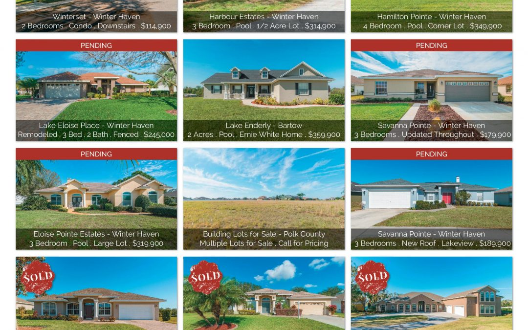 Homes and Land Magazine Winter Haven