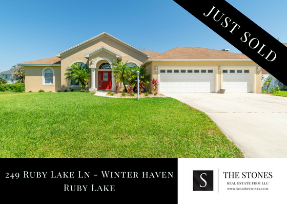 JUST SOLD: Ruby Lake in Winter Haven Florida