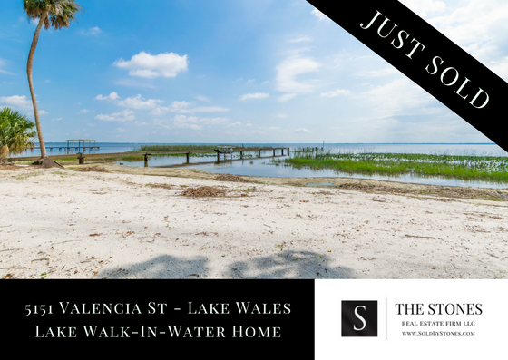 JUST SOLD: Lake Walk-in-Water Lakefront Home