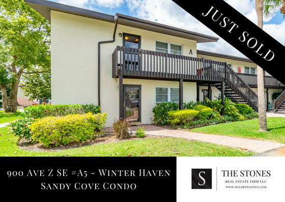 JUST SOLD: Sandy Cove Condo in Winter Haven