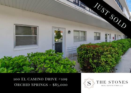 JUST SOLD: 100 El Camino Drive #109 – Orchid Springs
