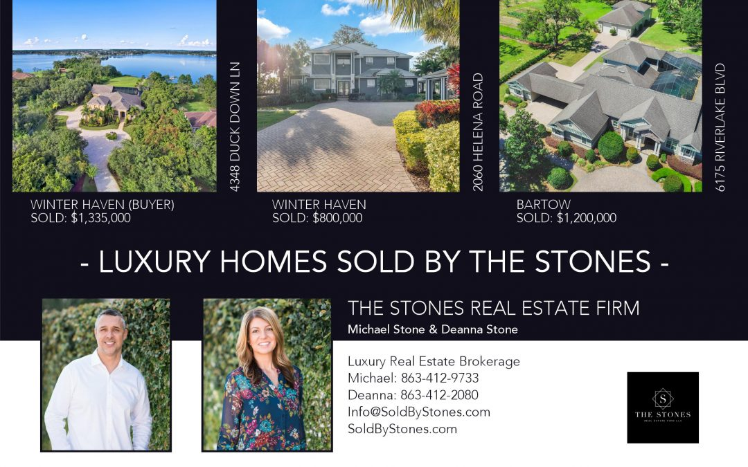 Luxury Home Sales By The Stones