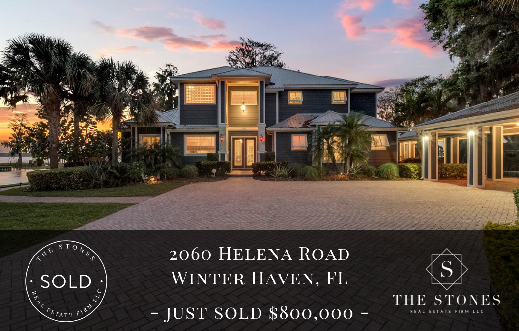 JUST SOLD: 2060 Helena Road on the Winter Haven Chain of Lakes
