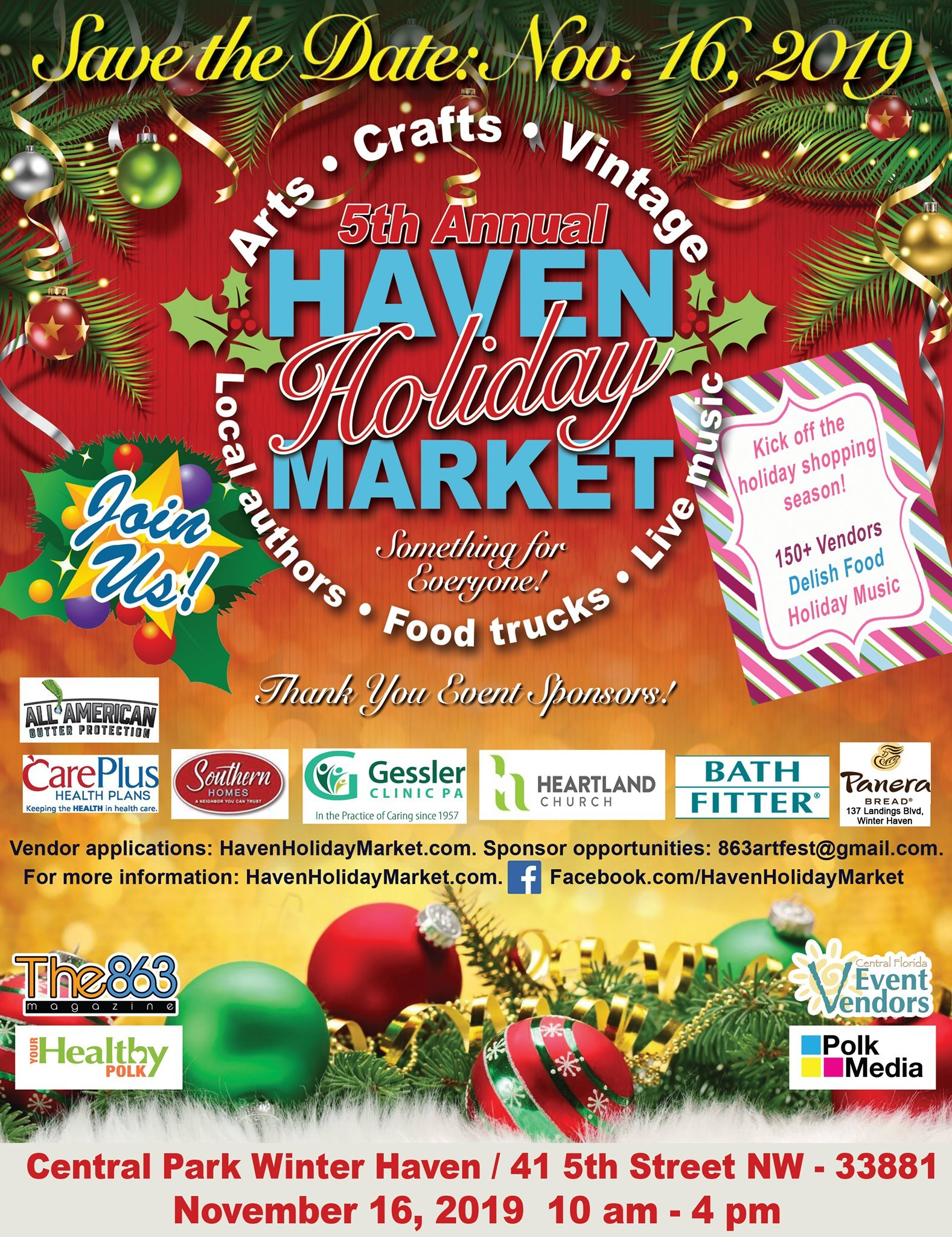 Winter Haven Holiday Market 2019