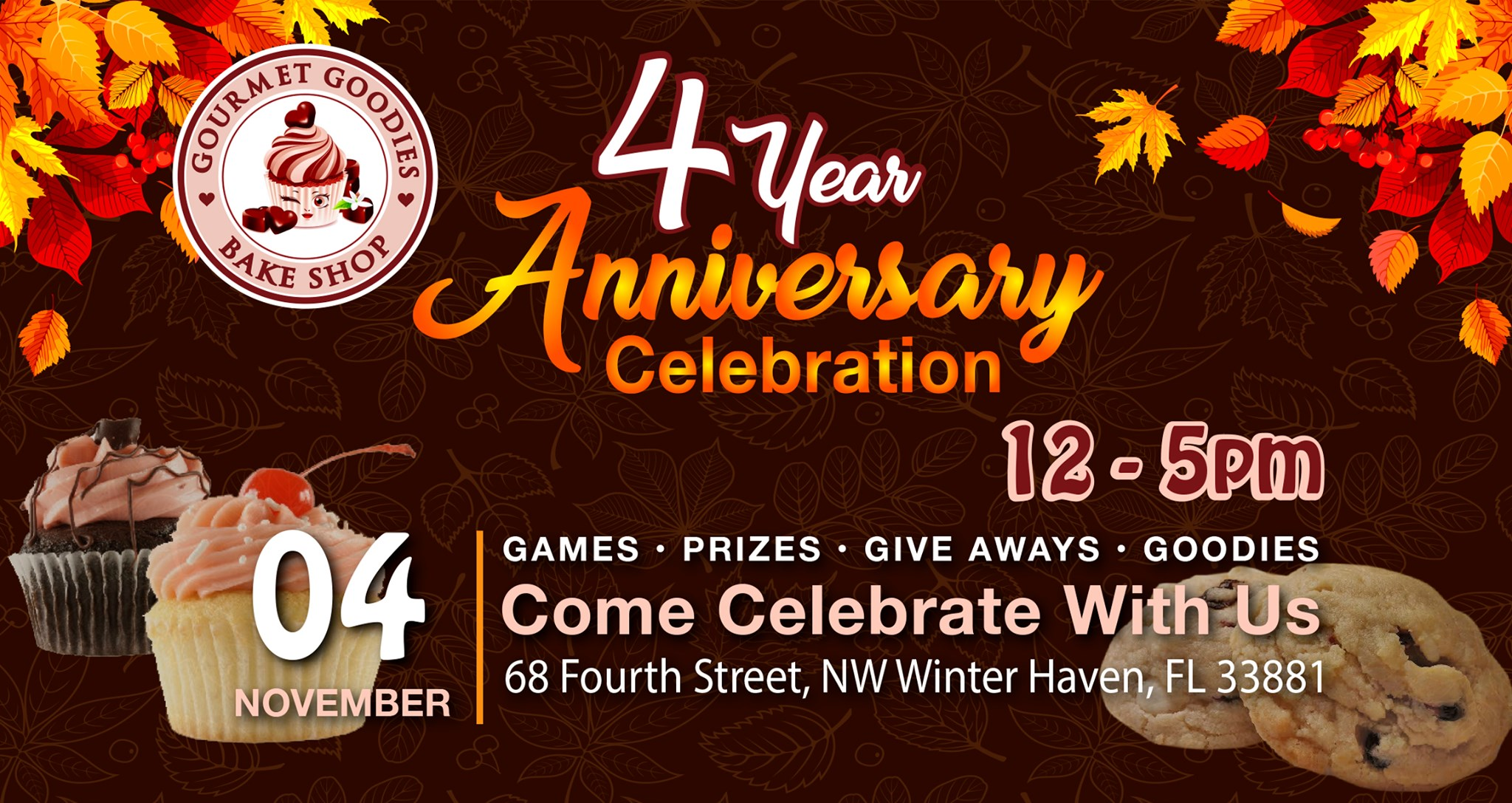 Winter Haven's Gourmet Goodies 4th Anniversary