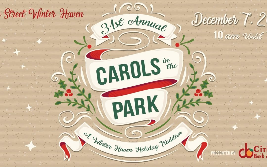 Carols in the Park 2019