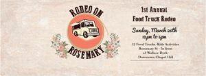 Check Out Chapel Hill's First Food Truck Rodeo