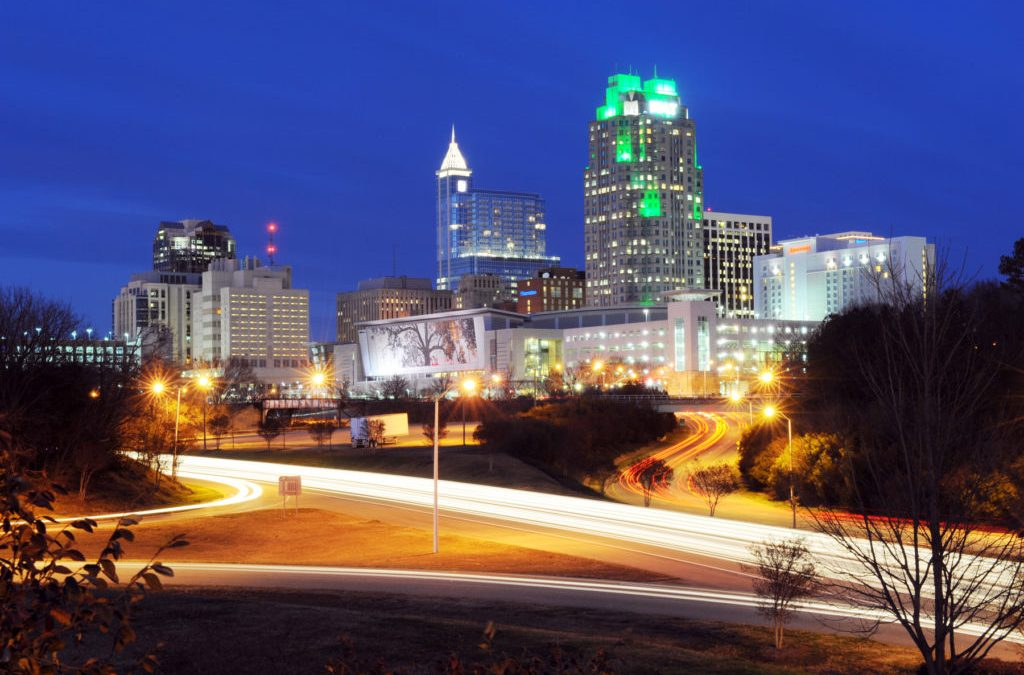 Developing Downtown Raleigh in 2017