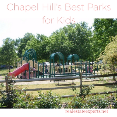 Looking for a place to play? Try one of Chapel Hill's best parks for kids!