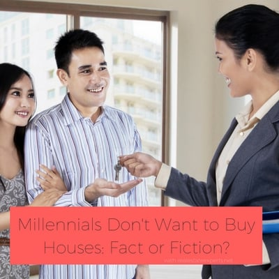 Millennials Don't Want to Buy Houses: Fact or Fiction?