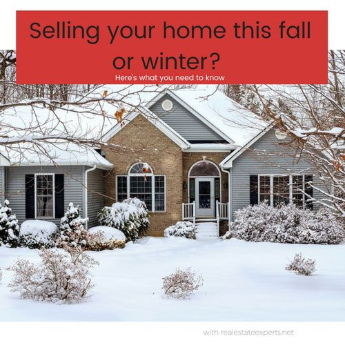 Selling your house in Fall or Winter?