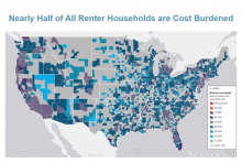 Nearly Half of U.S. Renters Are Burdened by Housing Costs
