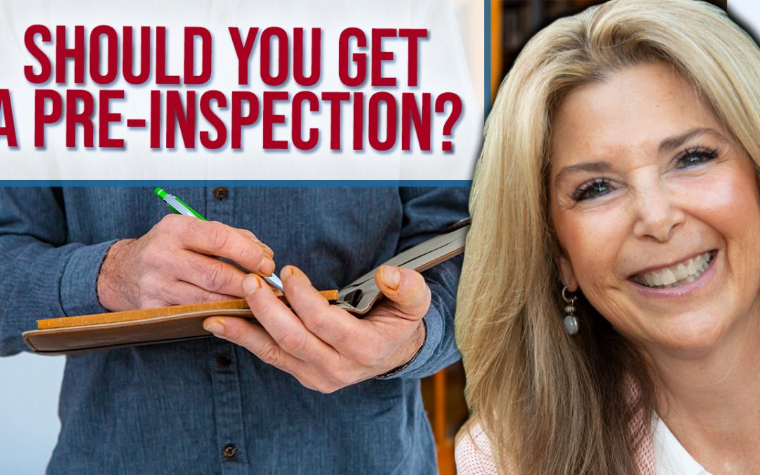 Q: Should Sellers Get an Inspection Before Selling?