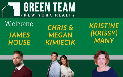 The Green Team Welcomes James House, Chris and Megan Kimiecik and Kristine Many