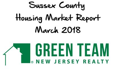 Sussex County Real Estate Market Report for March 2018