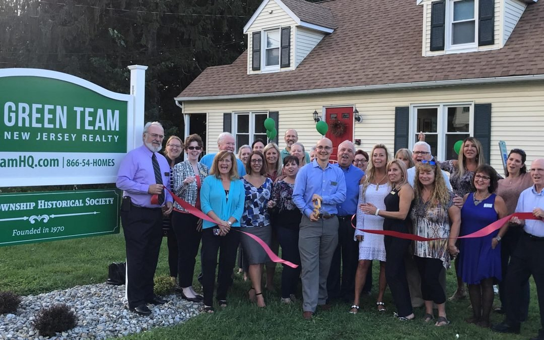 Green Team New Jersey Realty celebrates the opening of their new office building.