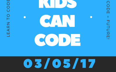 "Kids CAN Code!  A FREE ""How To Event"""