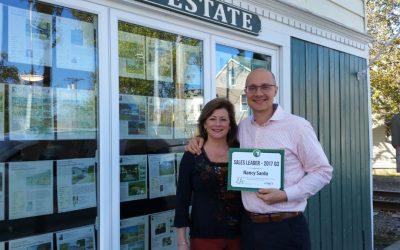 Nancy Sardo wins Third Quarter Sales Leader Award