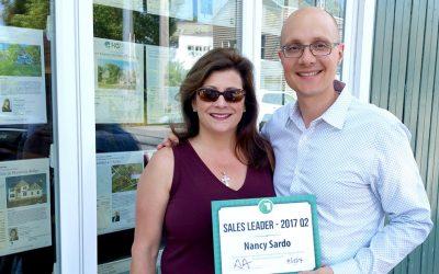 Nancy Sardo Wins Second Quarter Sales Award