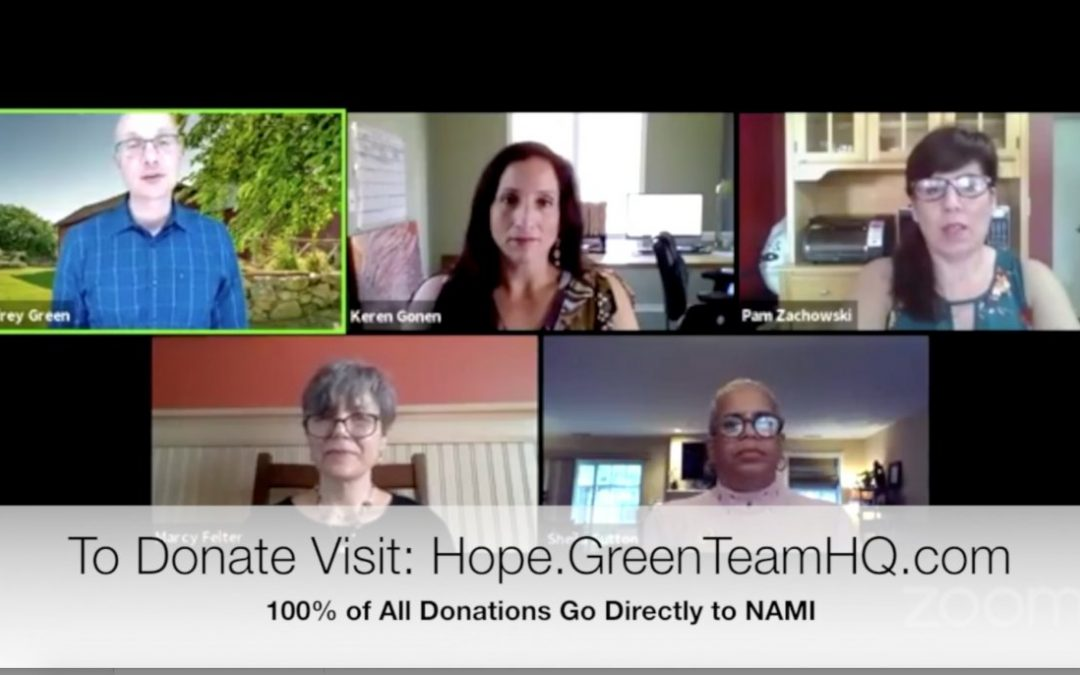 Team Up for Hope: The Green Team Went Live with NAMI Orange County, NY