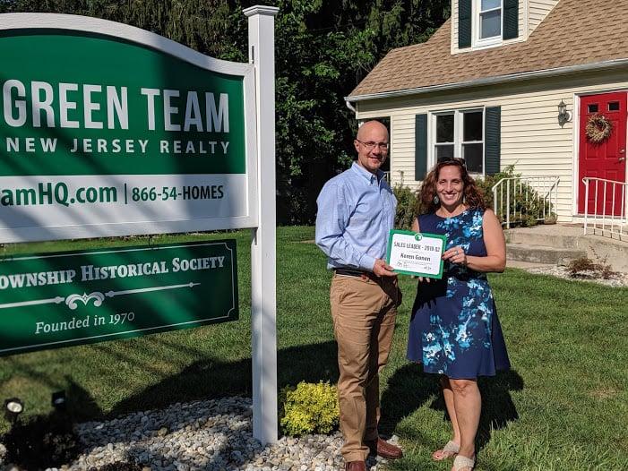 Keren Gonen is Green Team New Jersey Realty's 2019 2nd Quarter Sales Leader