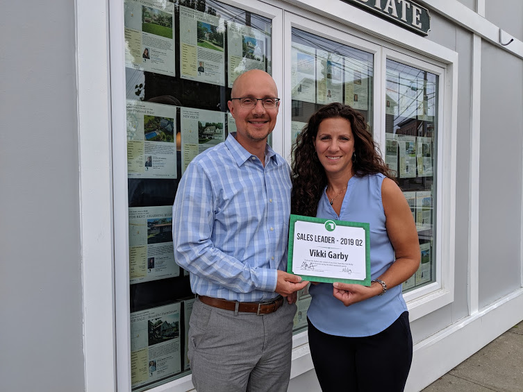 Vikki Garby is Green Team New York Realty's 2019 2nd Quarter Sales Leader