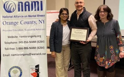 Green Team Realty Receives NAMI Orange Appreciation Award