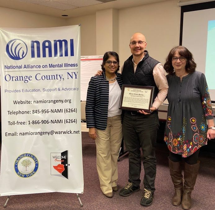 Green Team Realty Receives NAMI Orange Appreciation Award