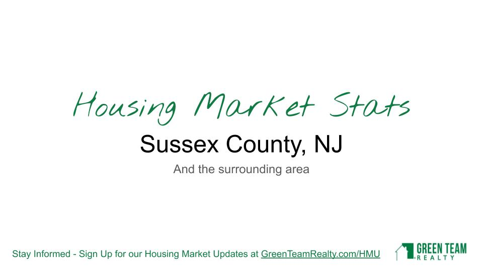 Housing Market Update from Green Team Realty