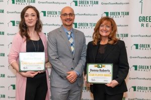 Green Team Realty 2019 Team Player Award Recipients