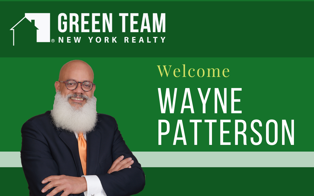 Green Team Welcomes Wayne Patterson