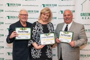 Green Team Realty Sales Leaders for 2019