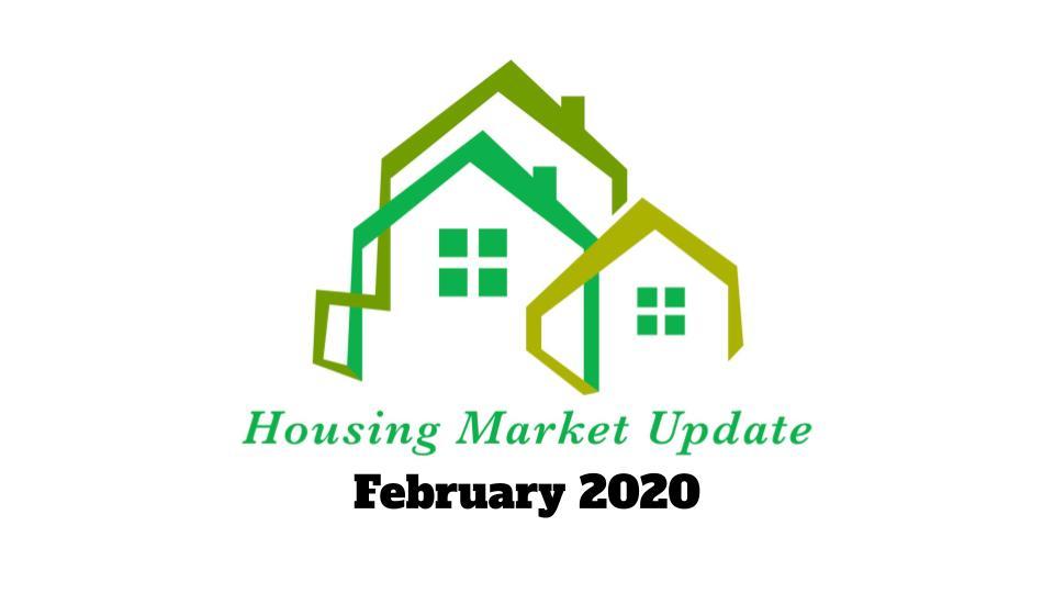February 2020 Housing Market Update