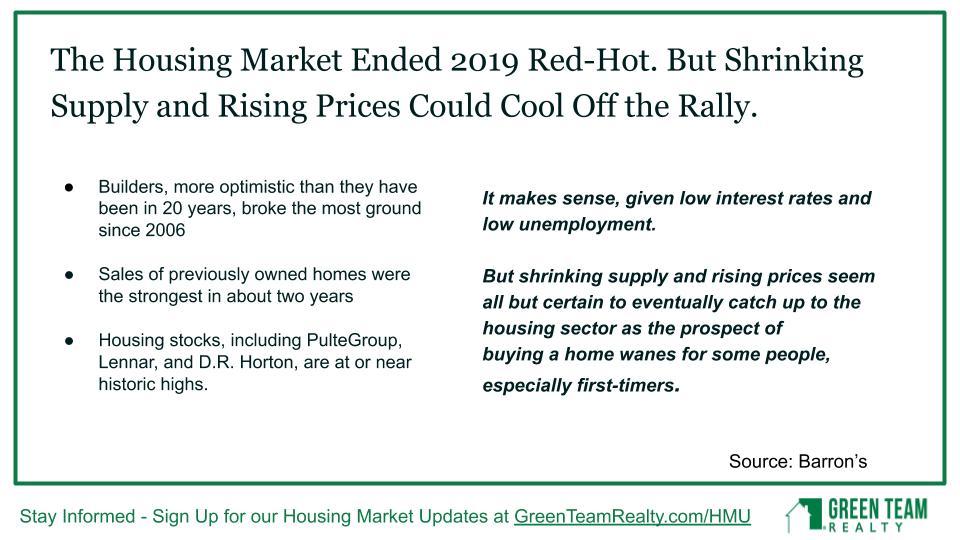 Feb 2020 Housing Market Update Green Team Realty