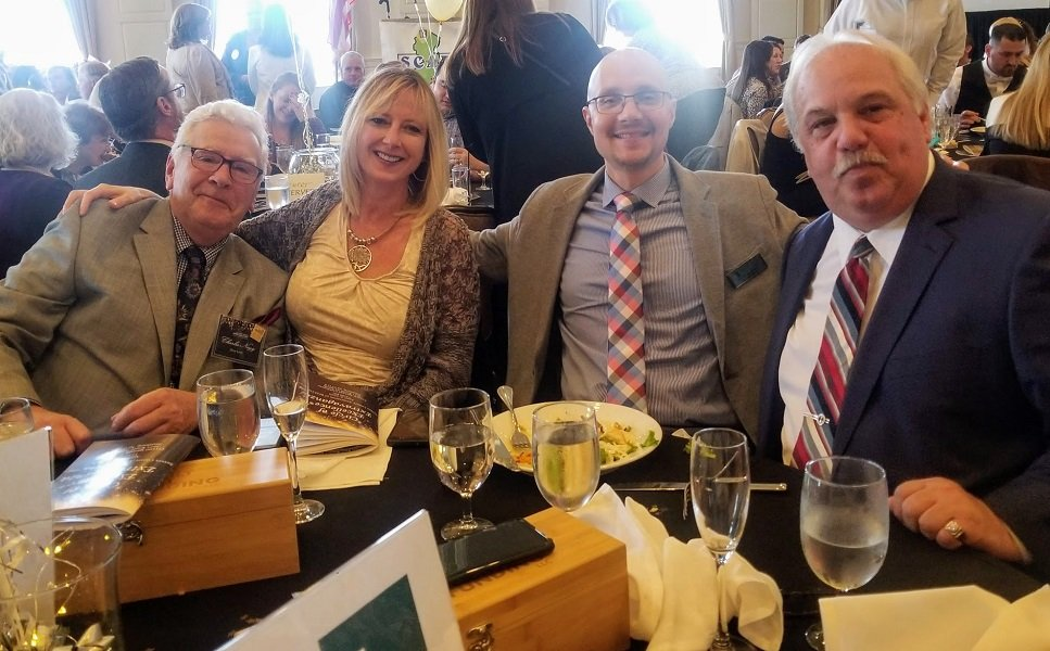 Green Team Table at New Jersey Realtors Awards Ceremony