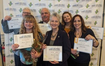 Green Team New Jersey Realty's 2019 Circle of Excellence Award Recipients