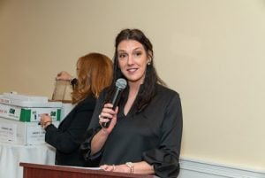 Laura Green presented the awards at Green Team Realty's 2019 Awards Ceremony
